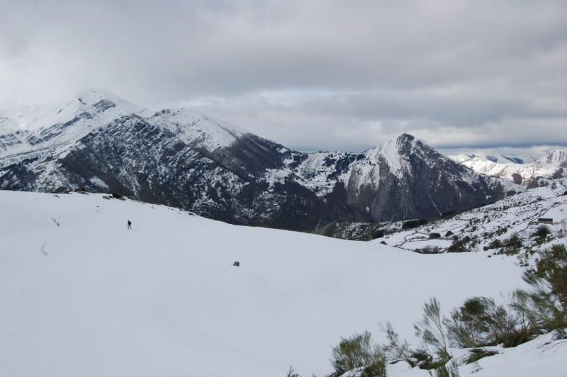 Llamardal - Braña de Mumian - Pico el Alto